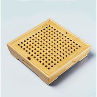 Small Tea Saucer Chinese Tray - 2small - Bamboo Tables & Trays