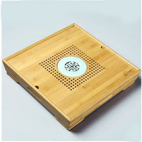 Small Tea Saucer Chinese Tray - 3big - Bamboo Tables & Trays