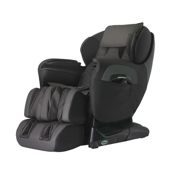 Titan TP-8400 with L-Track Massage Chair - Black - Electric Massage Chairs