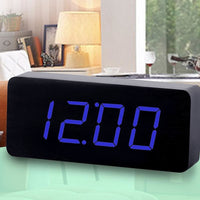 Wooden Alarm Clock LED Digital - Alarm Clocks