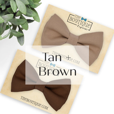 Brown and Tan Sets