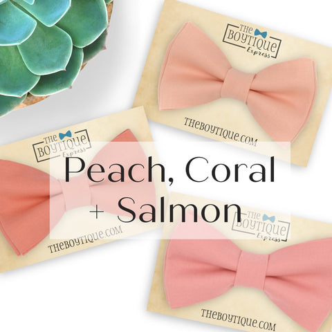 Peach, salmon and Coral Sets