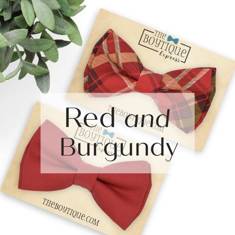 Red and Burgundy Sets