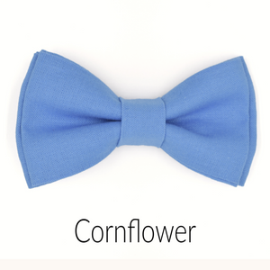 Cornflower Blue Bow Tie in BL1