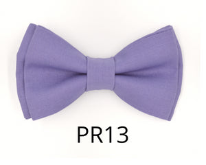 Lavender Bow Tie and Suspender Set