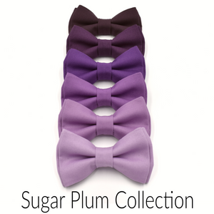 Mauve Bow Tie and Suspenders in PR8