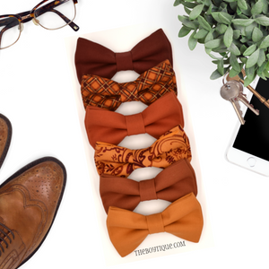 Sienna Bow Tie Collection with optional Suspenders