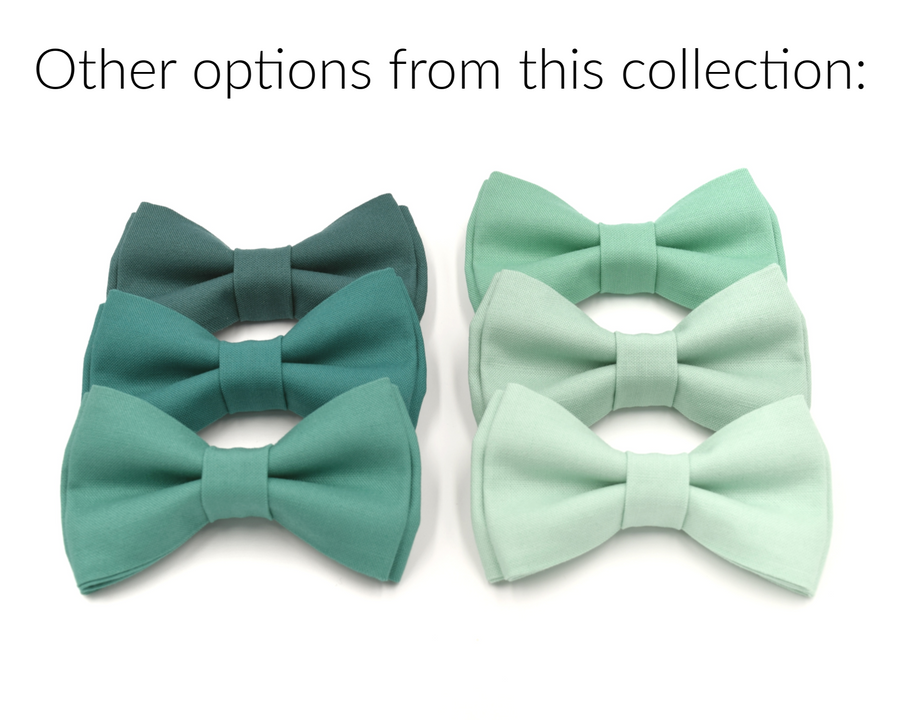 green bow ties