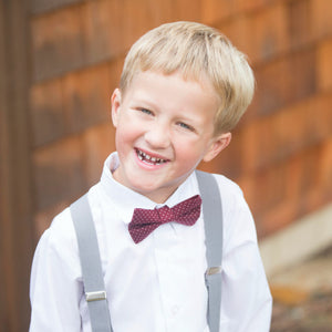 boys light gray suspenders