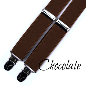 "Brown Suspenders in ""Chocolate"""