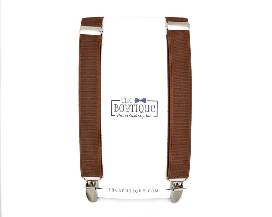 "Brown Suspenders in ""Coffee"""