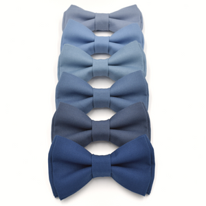 steel blue bow ties slate blue bow tie