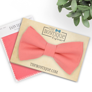 coral reef bow tie and suspenders pin