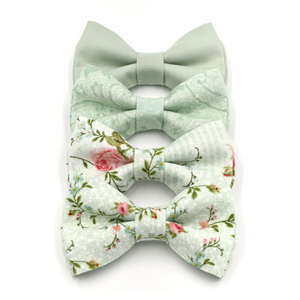 Dusty Sage Bow Ties and Sets
