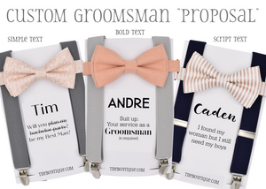 groomsmen proposal
