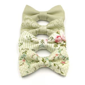 Pale Sage Bow Tie in GN68