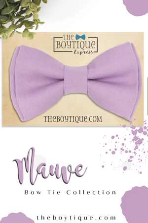 Light Mauve Bow Tie in PR28