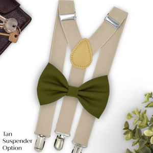 olive ring bearer outfit