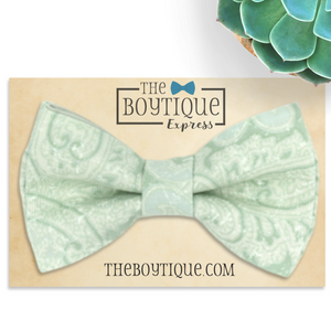 Dusty shale bow tie