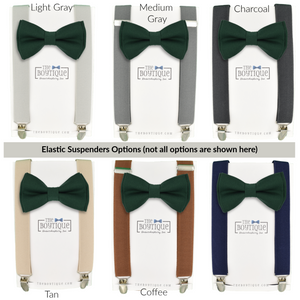 Juniper Bow Tie and Suspender Set