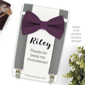 ring bearer plum