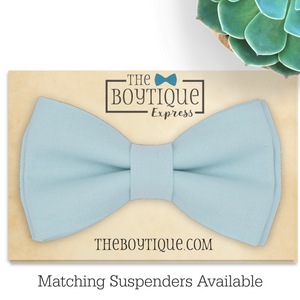 robin's egg blue bow tie