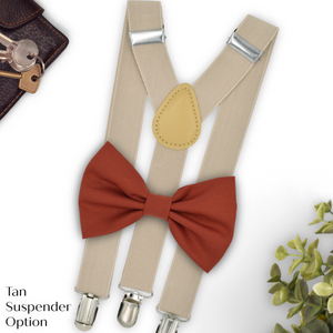 Sienna Bow Tie and Suspenders in RD15