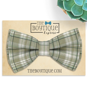 Sage Green Bow Ties