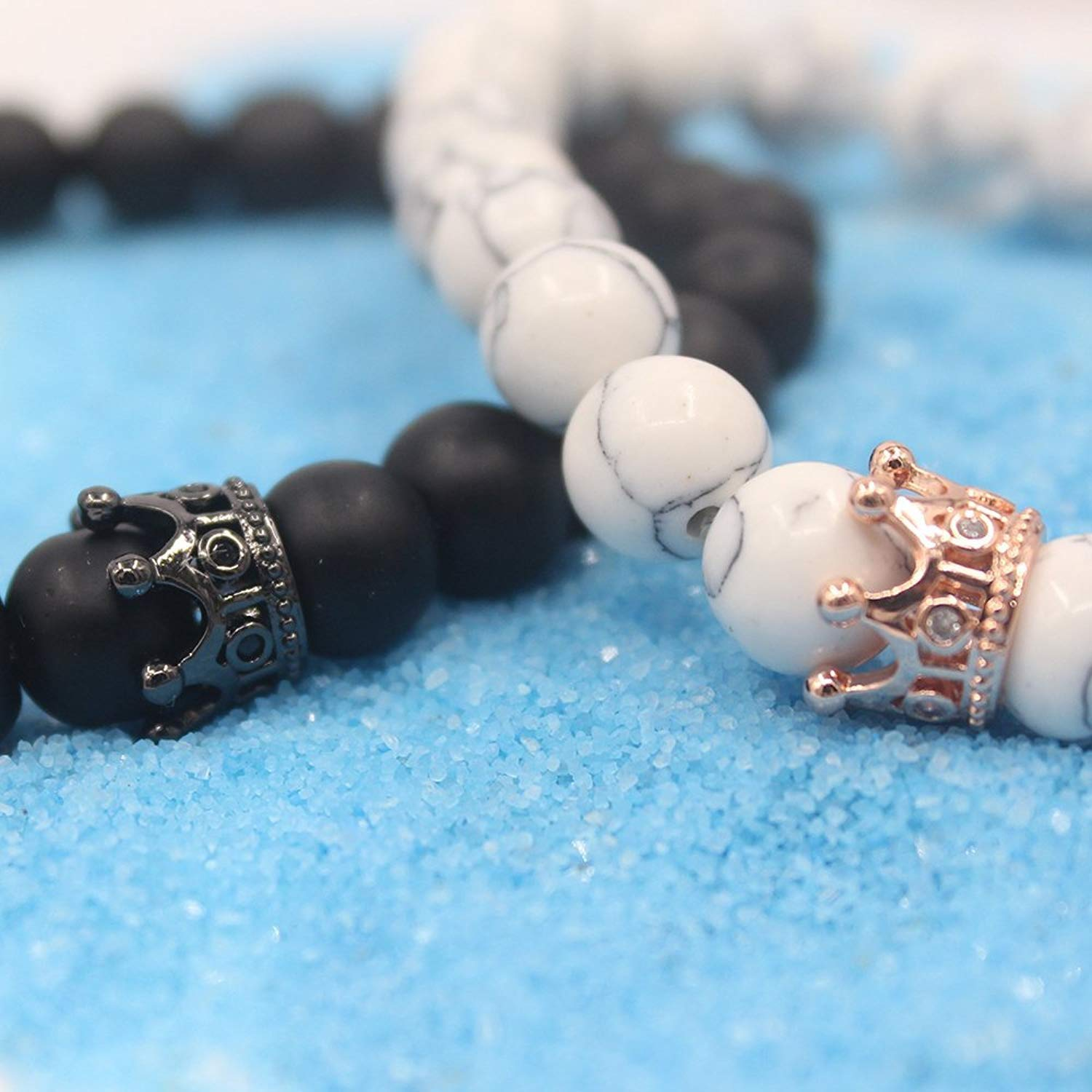 King And Queen Couples Bracelet