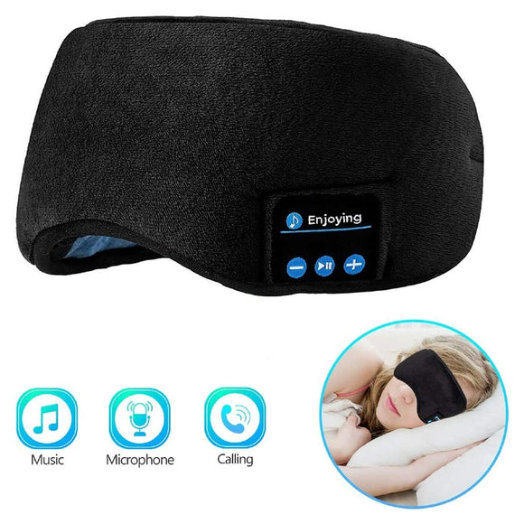 Sleep Mask With Bluetooth