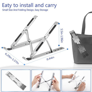 Foldable Laptop Holder