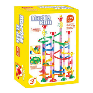 Marble Construction & Race Set