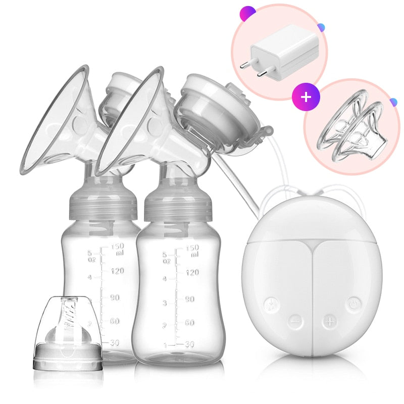 Hands free breast pump