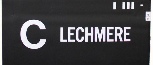 C Lechmere Roll Sign (Type 7 End Destination)