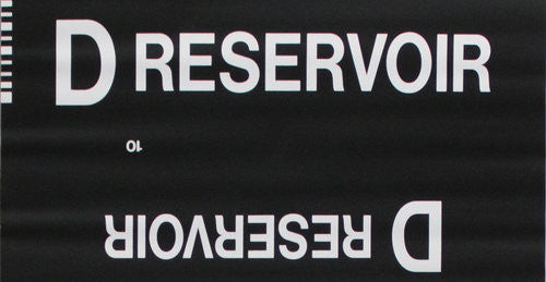 D Reservoir Roll Sign (Type 7 Side Destination)