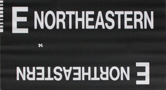 E Northeastern Roll Sign (Type 7 Side Destination)