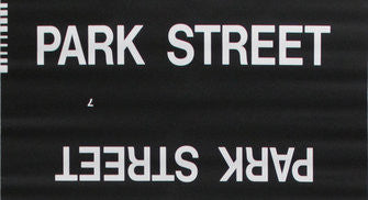 Park Street Roll Sign (Type 7 Side Destination)