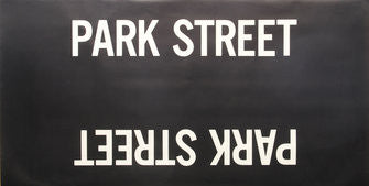 Park Street Roll Sign (Boeing LRV Side Destination)