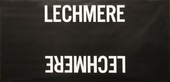 Lechmere Roll Sign (Boeing LRV Side Destination)