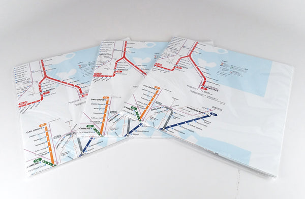 T Map Wrapping Paper