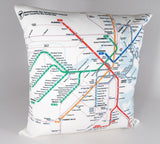 T Map Pillow