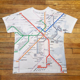 MBTA Map T-shirt (Adult & Youth)