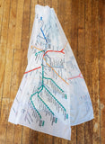 T Map Scarf
