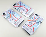 MBTA Map iPhone Case