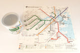 MBTA Map Magnetic Puzzle