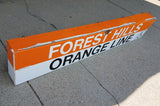 Forest Hills Orange Line Box Sign I