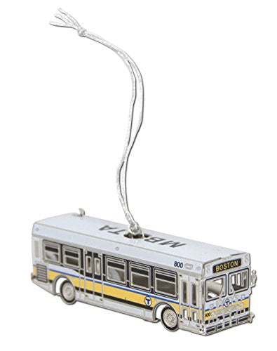 MBTA Bus Ornament