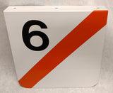 6 Car Train Stop Indication Sign