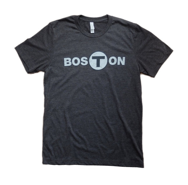 Women's Boston T-Logo Tank Top - Dark Grey Heather