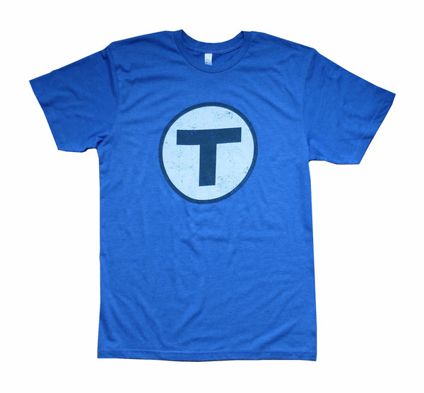 T Logo Blue T-Shirt (Adult Unisex)